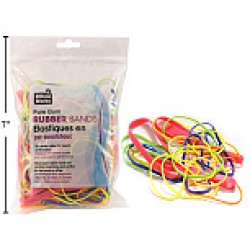 Rubber Bands - assorted colors & sizes ~ 4oz