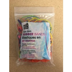 Rubber Bands - Assorted Colors & Sizes ~ 1/4lb bag