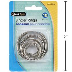 Binder Rings ~ 10 per pack