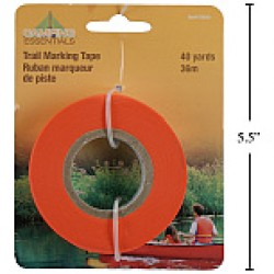 Trail Marker Tape ~ Glow Orange - Packaged
