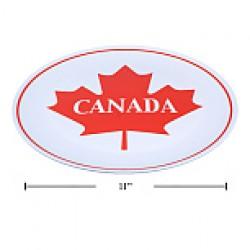 "Canada Melamine Plate - 11"" Round"