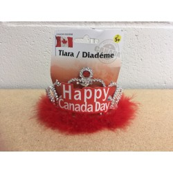 """HAPPY CANADA DAY"" Tiara"