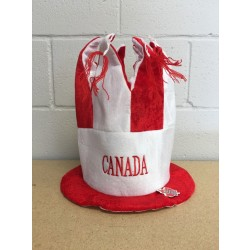 Canada Party Hat with Tasels