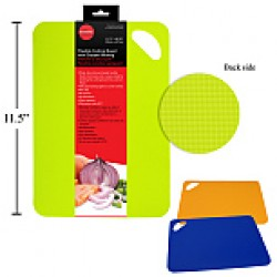 "Flexible Cutting Board w/Gripper Backing ~ 11.5"" x 8.25"""