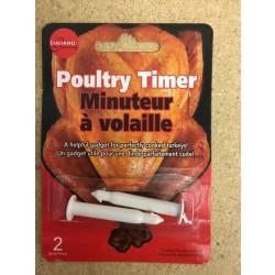 Poultry Pop-Up Timer ~ 2/pk