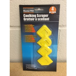 Caulking Scrapers ~ 4 per pack