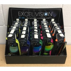Excel Vision Adult's Sunglasses w/Case