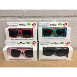 Excel Vision Baby & Toddler Sunglasses w/Secure Strap