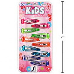 Kid's Snap Barrettes ~  10 per pack