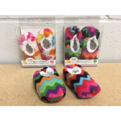 Tootsie Baby Sherpa Lined Slippers ~ 2 sizes