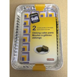 Foil Oblong Cake Pans ~ 2 per pack
