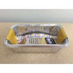 Foil Loaf Pans - 2lb ~ 3/pk