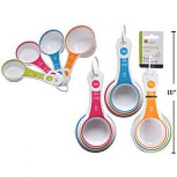 Plastic Measuring Cups ~ 4 per set