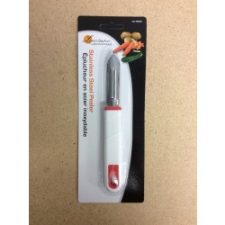 Luciano Stainless Steel Peeler w/Plastic Handle