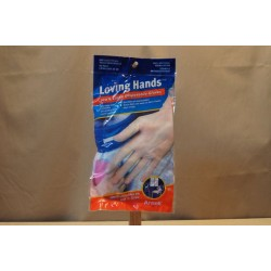 Latex Disposable Gloves ~ 10 per pack