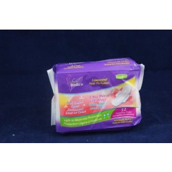 Ultra Thin Sanitary Pads w/Wings ~ 12 per pack