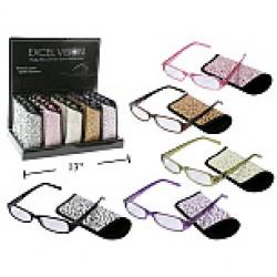 Plastic Framed Reading Glasses ~ 25 per display