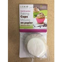 Paper Baking Cups - Medium ~ 50 per pack