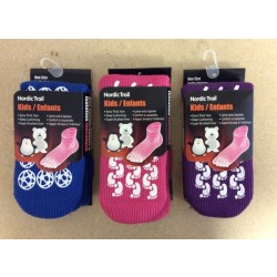 Kid's Insulated Thermal Gripper Socks