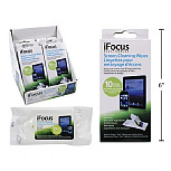 Screen Cleaning Wipes ~ 10 per pack