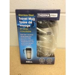 Stainless Steel Travel Mug ~ 450ml