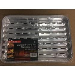 BBQ Aluminum Grilling Trays ~ 5 per pack