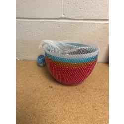 Plastic Bowls ~ Set of 4 in Mesh Bag