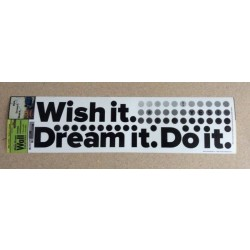 "Wall Art ~ ""Wish It... Dream It..."""