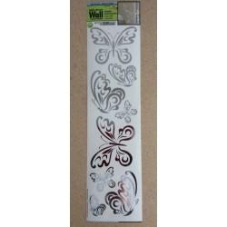 """Wall Art - Foil ~ """"Butterflies"""""""