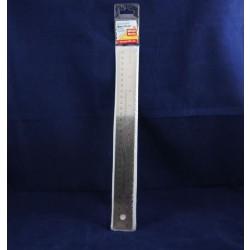 "Stainless Steel Ruler w/Cork Backing ~ 12"" / 30cm"