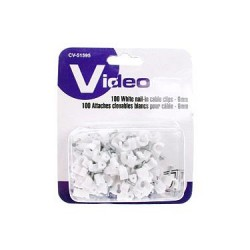 Cable Clips - 6mm ~ 100/pk
