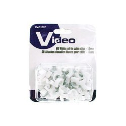 Cable Clips - 10mm ~ 60/pk