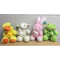 Easter Plush Animals w/Baby