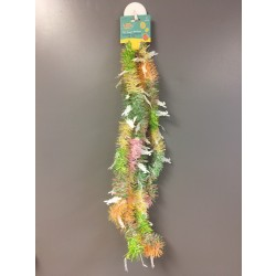 Easter Tinsel Garland - 3 ply ~ 9'