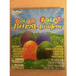 Dudley's Color Burst Egg Dye Kit