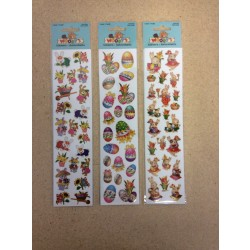 Woody's Easter Laser Mini Stickers