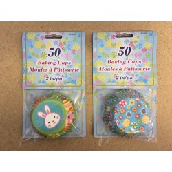 "Easter Baking Cups 2"" ~ 50/pk"