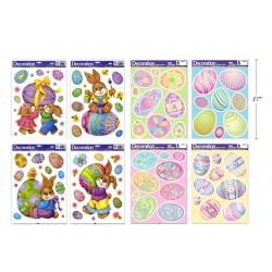 Easter Window Clings ~ Holographic