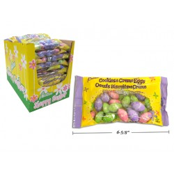 Easter Foil Covered Cookies & Creme Eggs ~ 142 gram