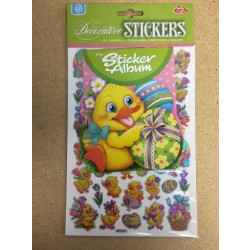 Easter Holographic Stickers w/Album Set