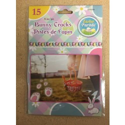 Easter Bunny Egg Hunt Tracks ~ 15 per pack