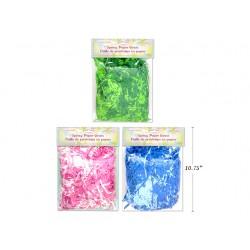 Easter 3-Tone Mixed Shredded Tissue Grass ~ 2 oz Bag
