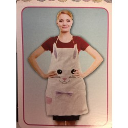Easter Bunny Face Apron