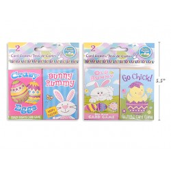 Easter Card Game ~ 2 per pack