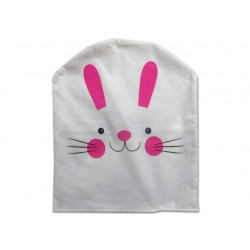 """Easter Felt Bunny Face Chair Cover ~ 20""""L x 18.5""""W"""