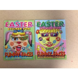 Easter Funny Faces Sticker Book