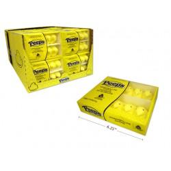 Easter Yellow Marshmallow Chick Peeps - 10/pk ~ 85gr