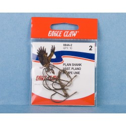Eagle Claw Bronze Kirby Hooks