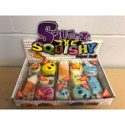 Scented Squishy Pastries ~ 12 per display