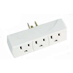 1 to 3 Grounded Outlet Adaptor